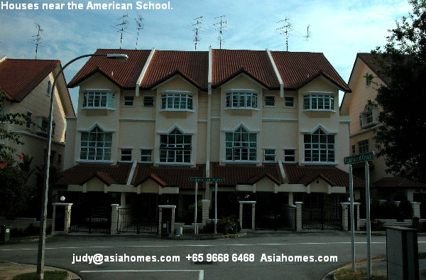 Singapore houses pictures