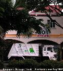 Singapore garbage truck