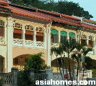 Singapore. Pretty Cairnhill Road Conservation Shophomes from $8,000 rentals