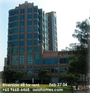 Singapore Riverside 48 condos - higher floors have waterfront views
