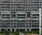 Outside restricted zone, UE Square condos, Singapore. Near Park and Raffles Place.