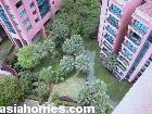 Singapore condos - Leonie Gardens - big koi pond