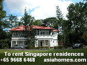 Singapore's heritage black and white bungalows rent from $6,000 - $20,000 in 2003