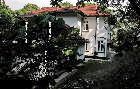 Singapore black & white bungalows for rent  - side view of dining room