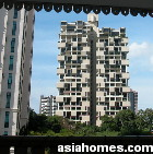 Singapore's The Colonnade opposite Spring Grove condos at Grange Road
