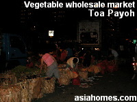 Toa Payoh wholesale vegetable market