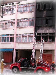 Jan 13 04 Toa Payoh Industrial shop explosion