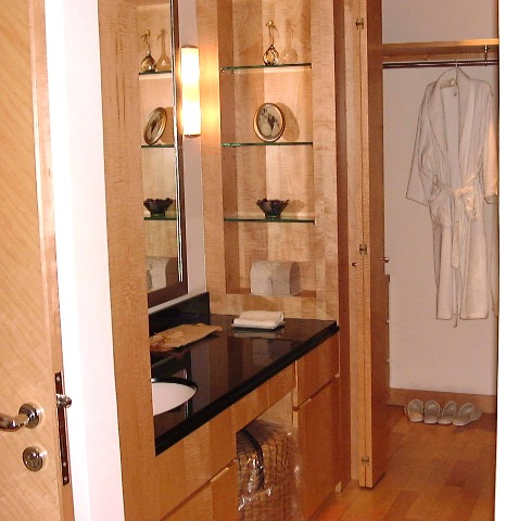 Master Bedroom Closet Design on Grange 80 S  His  Basin Is Inside The Bathroom Proper  Note The Unique