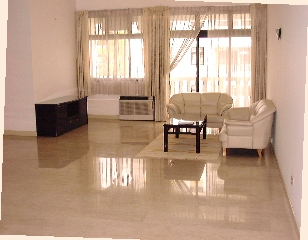 Casa Esperanza.  Really large living and separate dining areas.  For expats with lots of furniture.