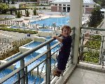 All 2-year olds love to climb balcony railings. The Wilby Blk 33 with pool & fountain views
