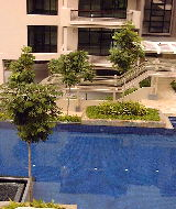 Singapore Gallop Court - big pool and jacuzzi and one end.