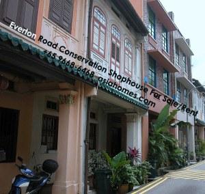 Singapore Everton Road Conservation Shophome for rent/sale, +65 9668-6468