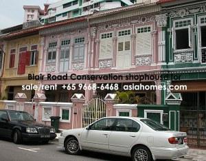 Singapore Blair Road Conservation Shophome for rent/sale, +65 9668-6468