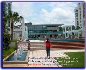 Singapore Condo - Caribbean @ Keppel Bay - clubhouse