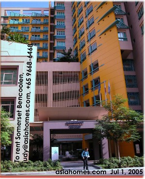 Near Singapore Management University and financial district. Somerset Bencoolen. Singapore. asiahomes.com