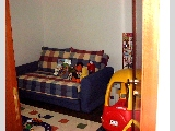 3rd bedroom is a study room or playroom.  Sofa bed for guests.