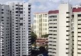 Singapore Yang's Garden Village, Himiko Court (pool) & Ridgewood condos