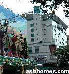 Somerset Orchard Serviced Apartments & Centrepoint shopping mall Nov 15 2002, Singapore