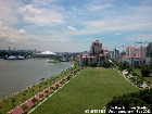 Singapore's Pebble Bay, Parkshore Condos, Indoor Stadium, Kallang River