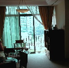 Singapore Fraser Place.  Living/dining 2 bedroom