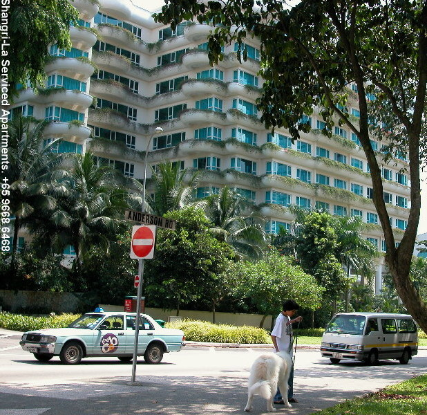 Apartments In Singapore: Shangri-La Residences Is Opposite Shangri-La Hotel, Off