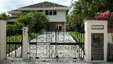 Singapore bungalow with privacy and big pool.