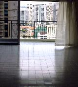Lucky Tower. High floor. Breezy. Ceramic floor tiles.