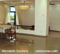 Spacious living and dining area plus a balcony for Mandarin Gardens 2024 sq ft condo