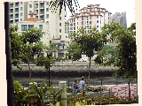 Tranquil waterfront Riverside View Serviced Apartments near Mohammed Sultan pubs and Clarke Quay