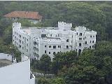 Castle like facade, near the American Club