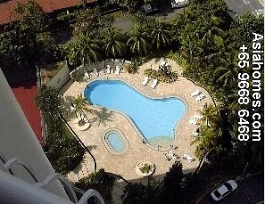 Singapore Fontana Heights' new pool