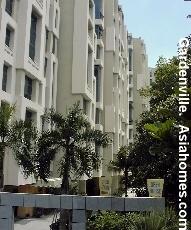 Singapore upscale condo, Gardenville