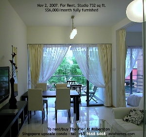 Nov 2, 2007. The Pier At Robertson Studio for rent. S$6,000. asiahomes.com, +65 9668 6468.