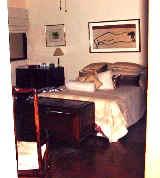 Villa delle Rose. Spacious master bedroom with walk in closet -