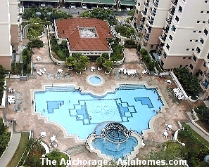 Singapore,  The Anchorage pools.