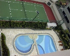 The Bencoolen Residences: Pool and tennis court
