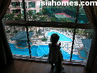 Singapore downtown condo - Melrose Park 4th bedroom (guest room with attached bath) facing pool