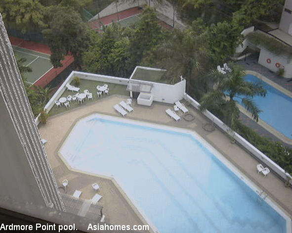 0709asingapore ardmore point condos rental properties - Least crowded swimming pool singapore ...
