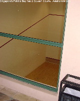Pebble Bay's squash courts