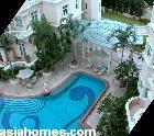 Singapore's upscale Chelsea Gardens - large patios on ground floor units