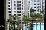Ardmore Park, Singapore. Pool and Palm tree views, low floor, no afternoon sun in Blk 15 04-04