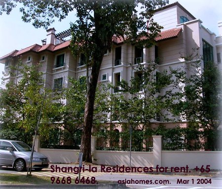 Singapore 39 s upscale rental condo shangri la residences - La residence exotique fish house singapour ...