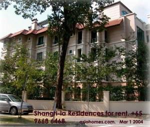 Singapore's upscale rental condo - Shangri-la Residences