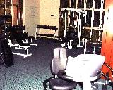 Leonie Condotel has a big gym