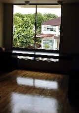 Wooden strips in bedrooms