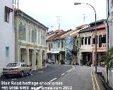 Singapore Blair Road shophomes near Chinatown