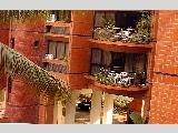 Holland Hill Mansions - semi-circular balcony.