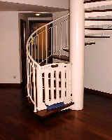 Villa Marina maisonette. Pressure type gate, no need to drill holes into iron column