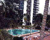 Amber Park has big semi-circular balconies.