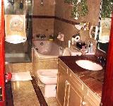 Regent Villas - compact master bathroom